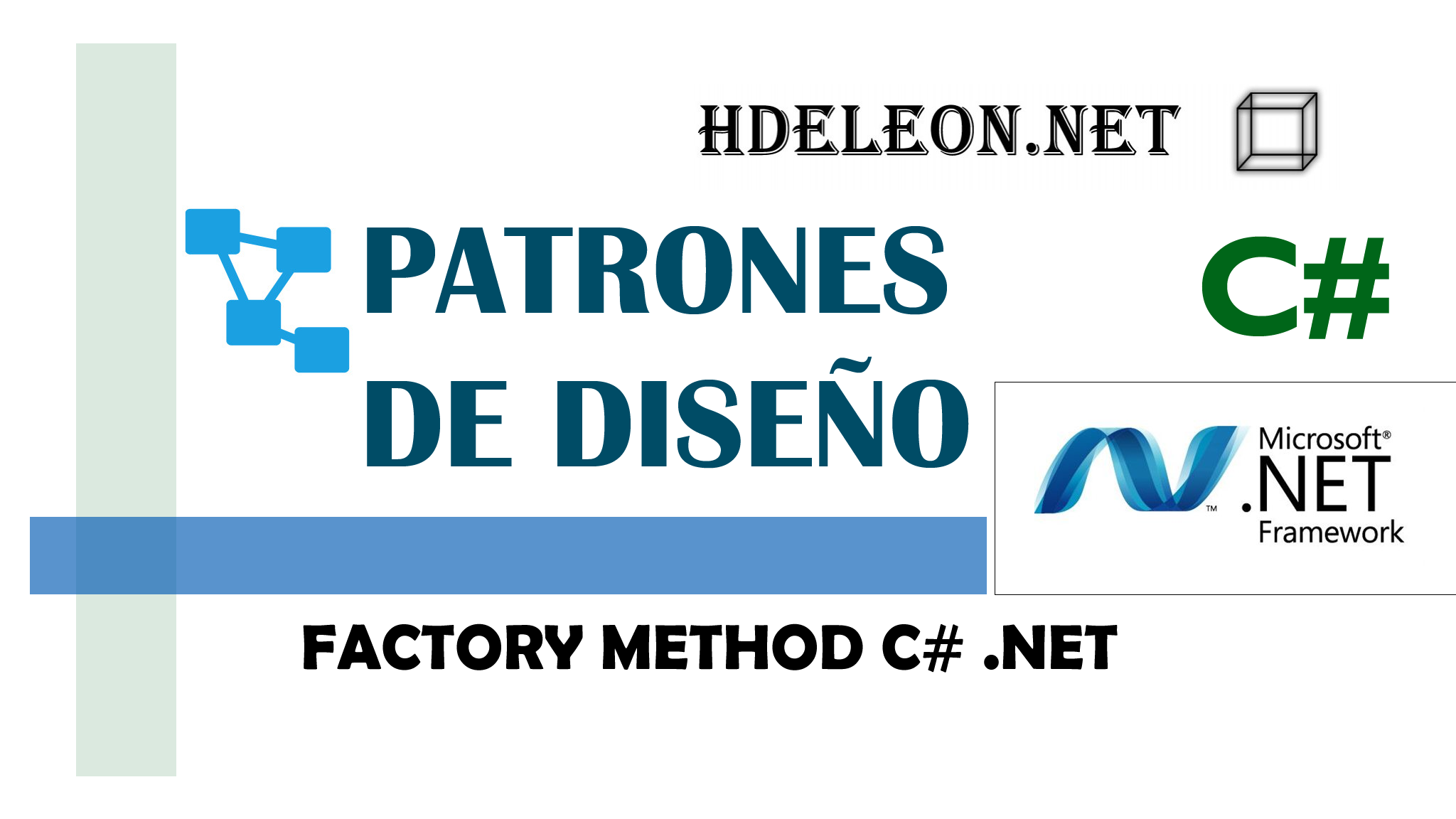 Factory Method en C# .Net, Patrones de diseño, design patterns, #4