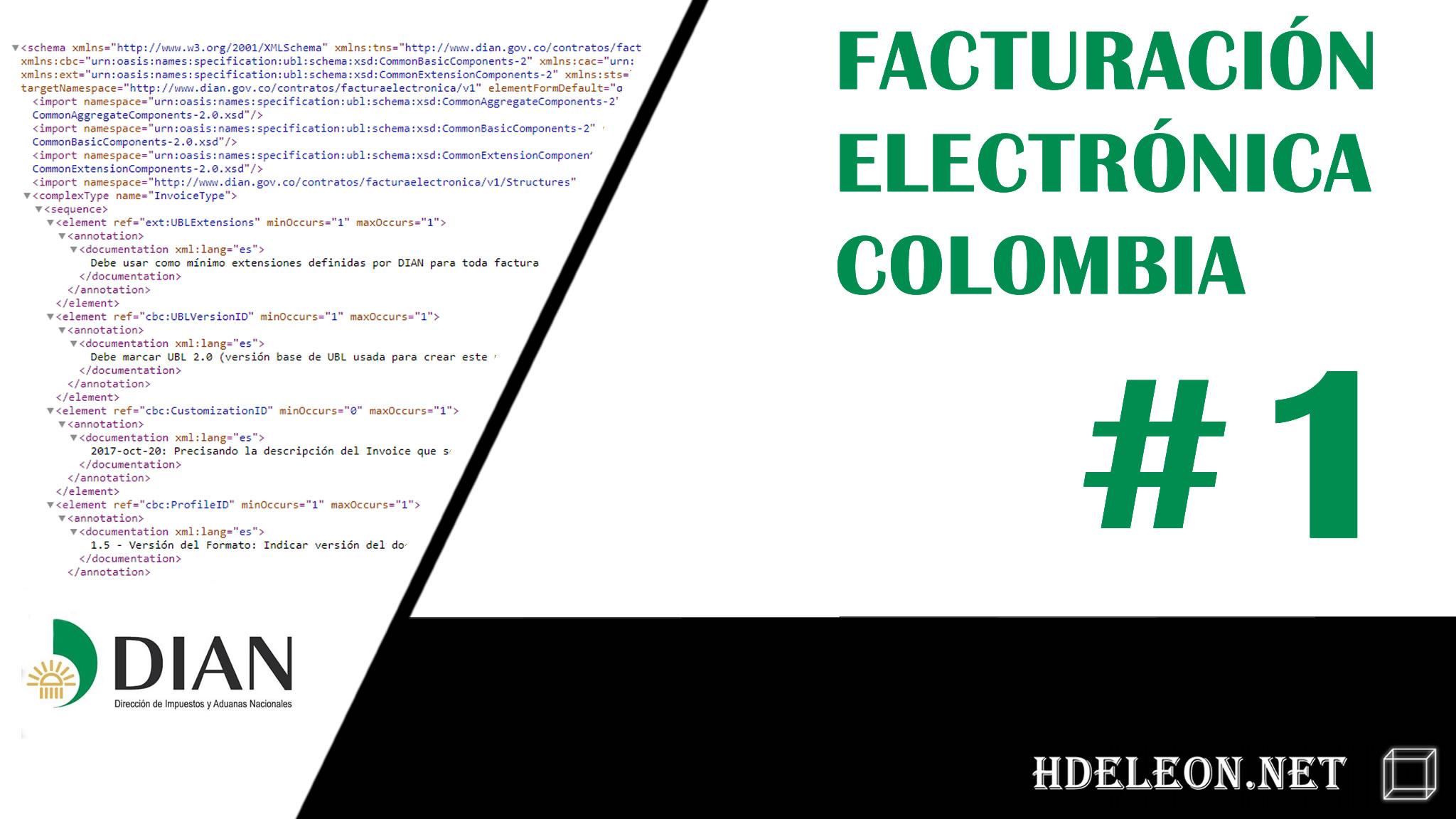 Curso de facturación electrónica Colombia en C# .Net