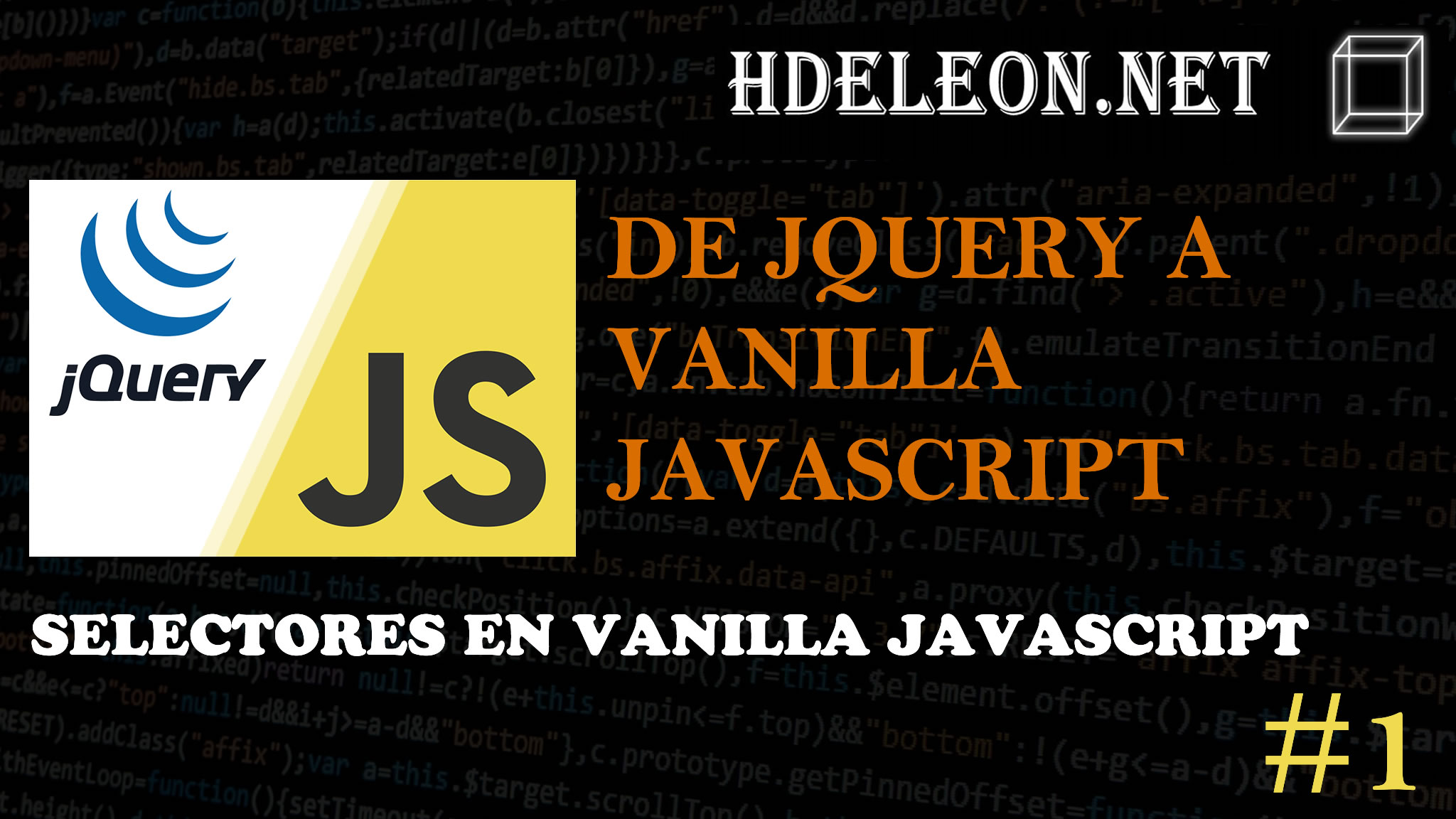 De Jquery a Vanilla Js