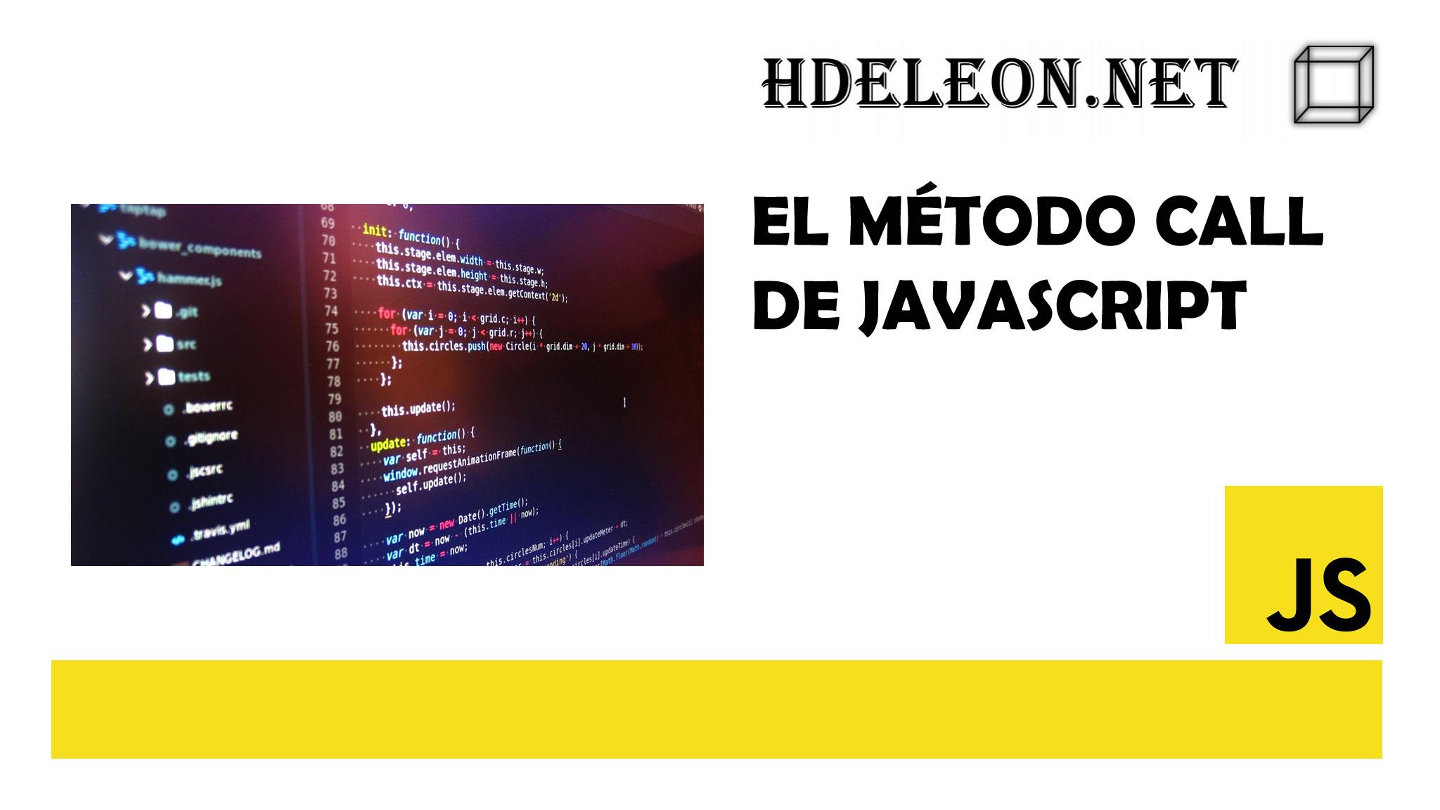 El método call de javascript, Invocar métodos de objetos terceros, #js
