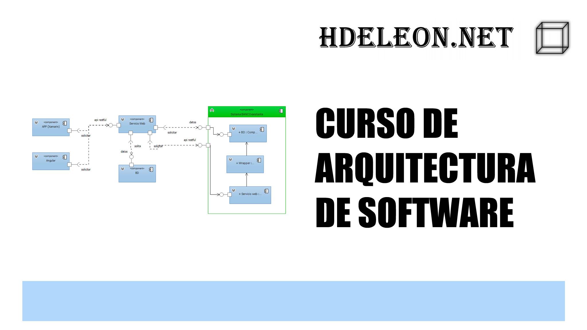 Curso de arquitectura software