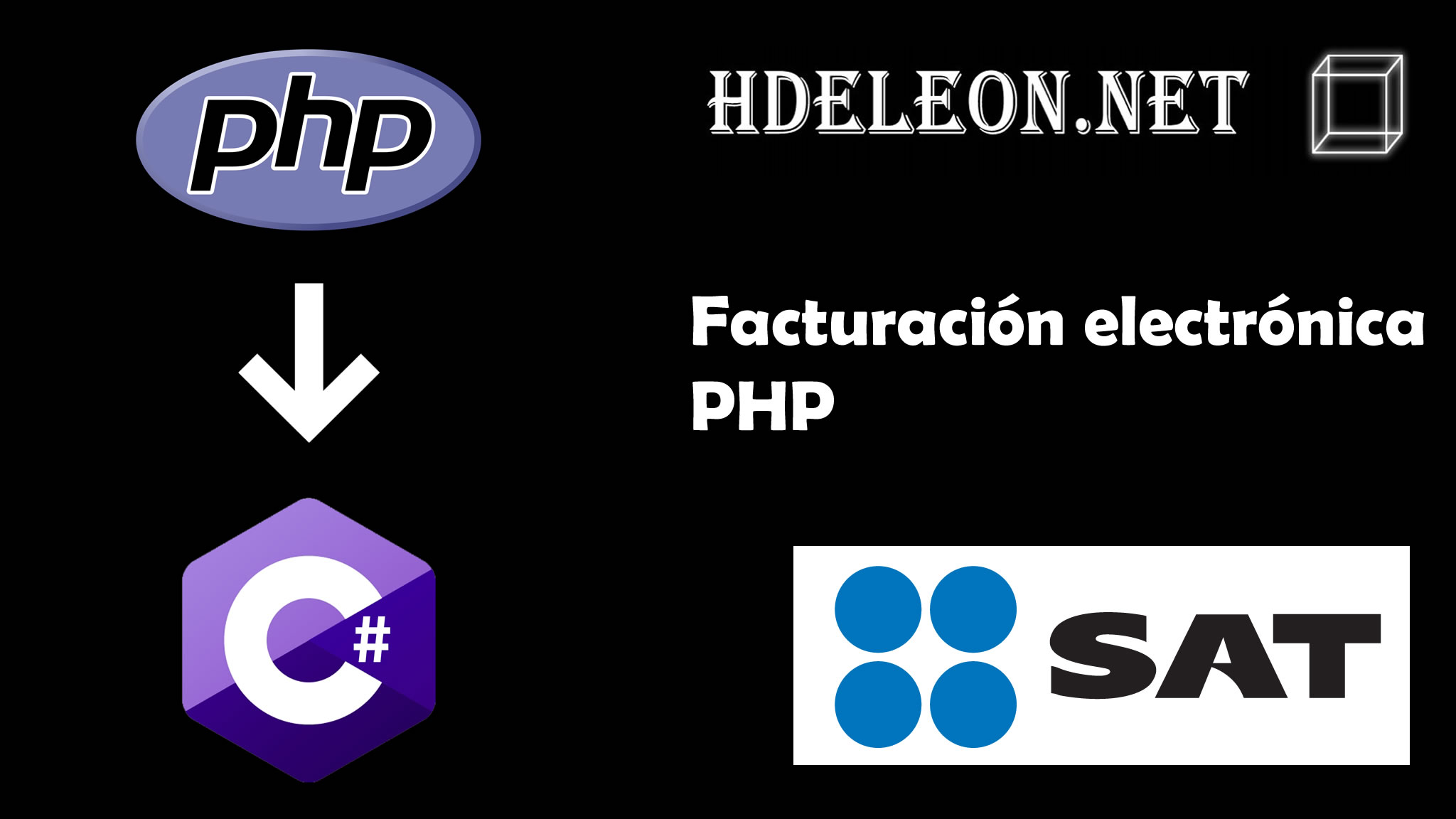 Crear la factura electrónica del SAT desde PHP, ejecutando C# .Net. XML, Sellado, Timbrado. Cfdi 3.3