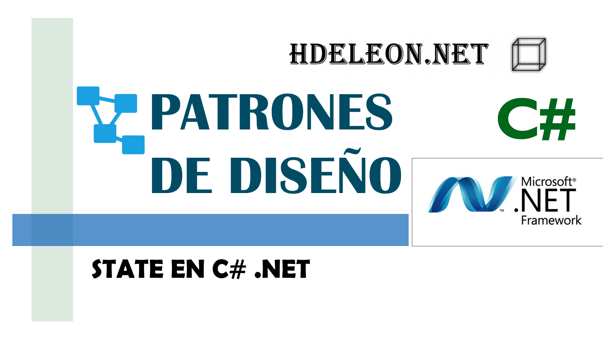 State en C# .Net, Patrones de diseño, design patterns #7