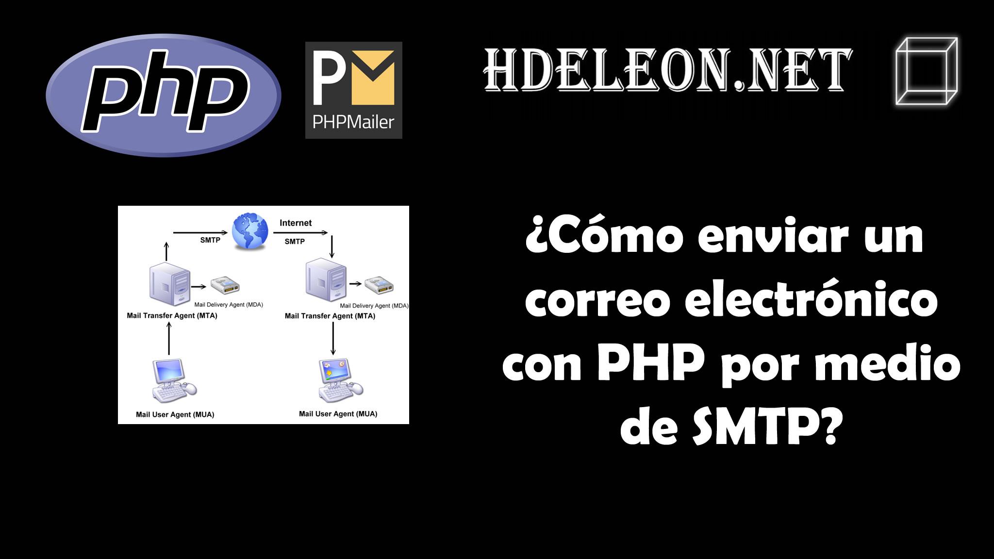 ¿Cómo enviar un correo electrónico con php por medio de SMTP? #php #phpmailer
