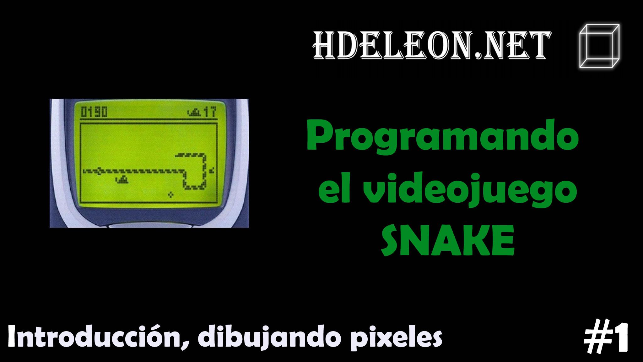 Curso para programar el videojuego Snake en C# .Net
