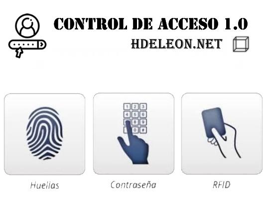 Software para control de acceso Hdeleon 1.0