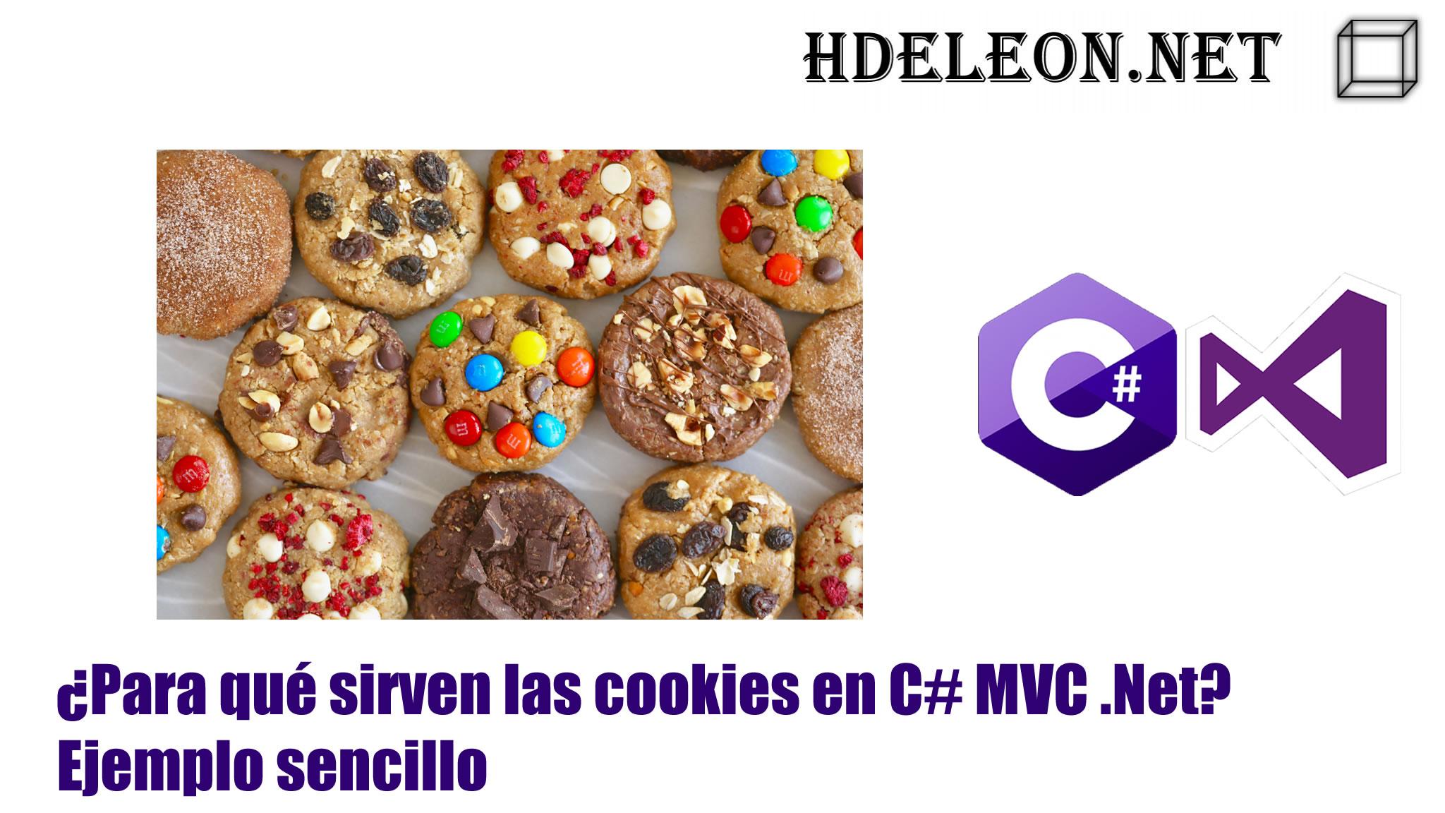 ¿Para qué sirven las cookies en C# MVC .Net?, Ejemplo sencillo