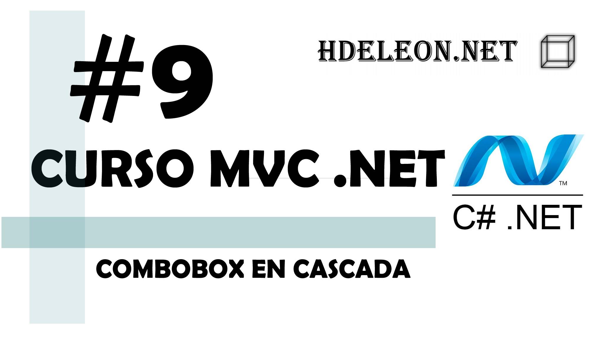 Curso de MVC .Net C#, Combobox en cascada, #9