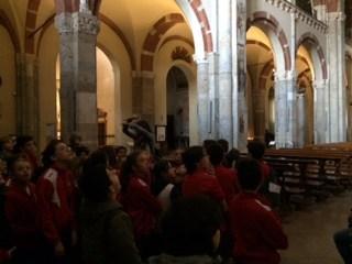 Visita a Sant'Ambrogio