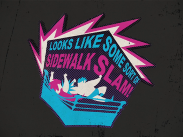 Sidewalk Slam Wrestlemania