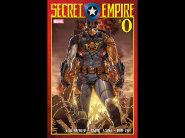 Captain America Being A Nazi Secret Empire