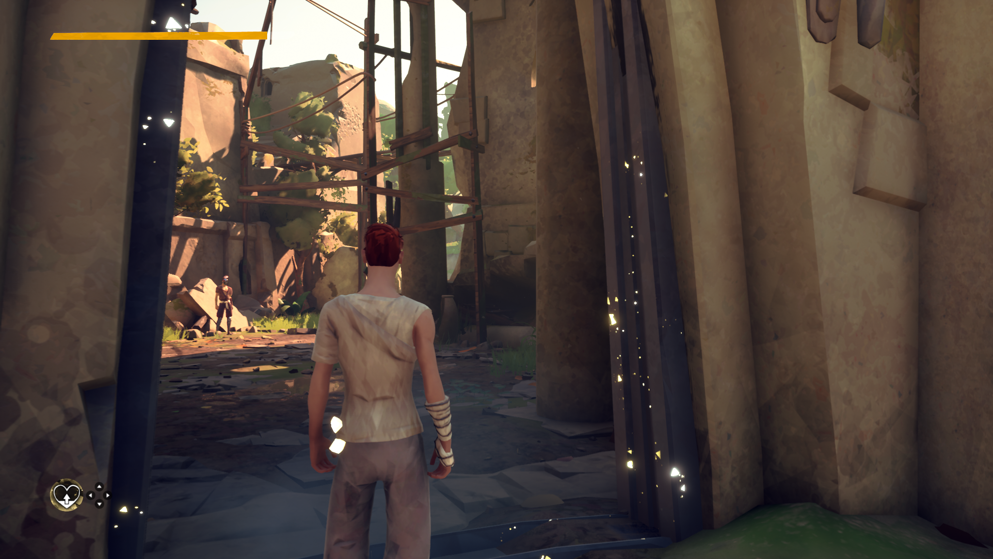 Absolver Starting area