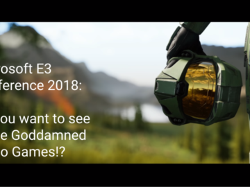 E3 Microsoft Conference 2018