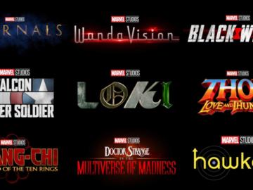 Marvel Phase 4 Titles