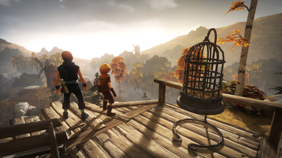 Brothers - A Tale of Two Sons Title