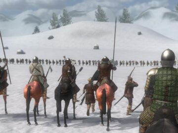 Mount and Blade Warband battleline