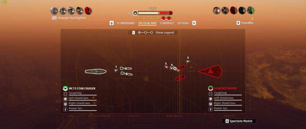 Star Wars Squadrons Fleet Battle