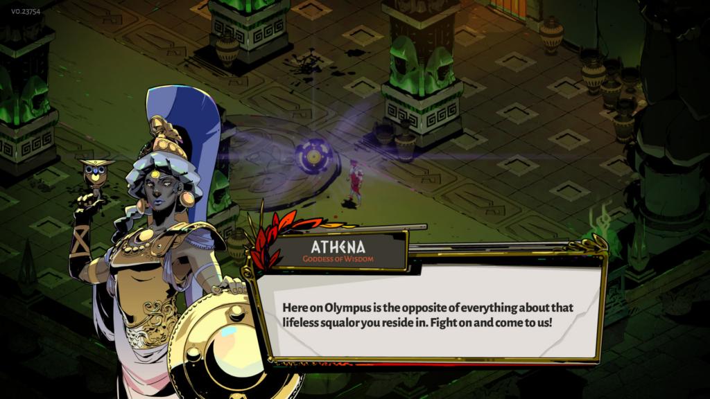 Hades Athena