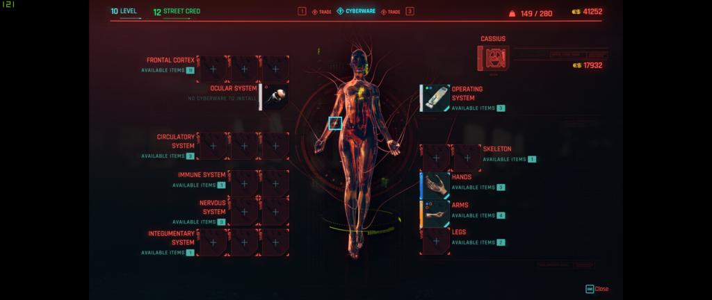 Cyberpunk Cyberware