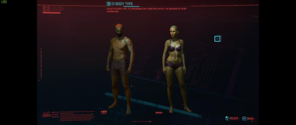 Cyberpunk Body Types