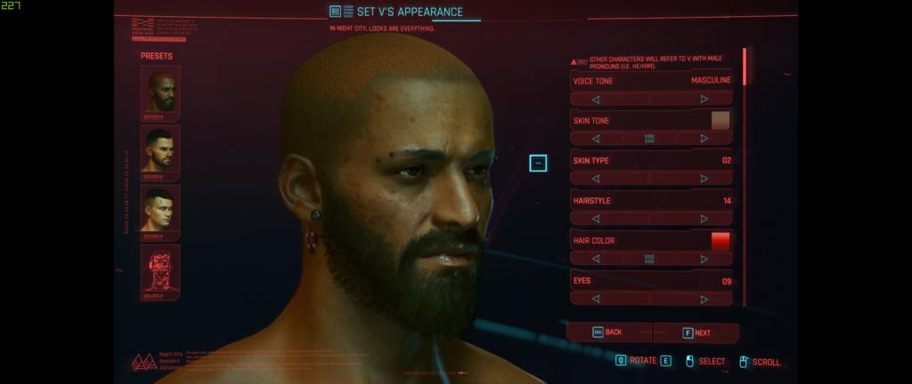 Cyberpunk Character Creation 1