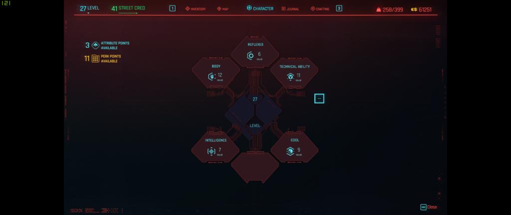 Cyberpunk Progression