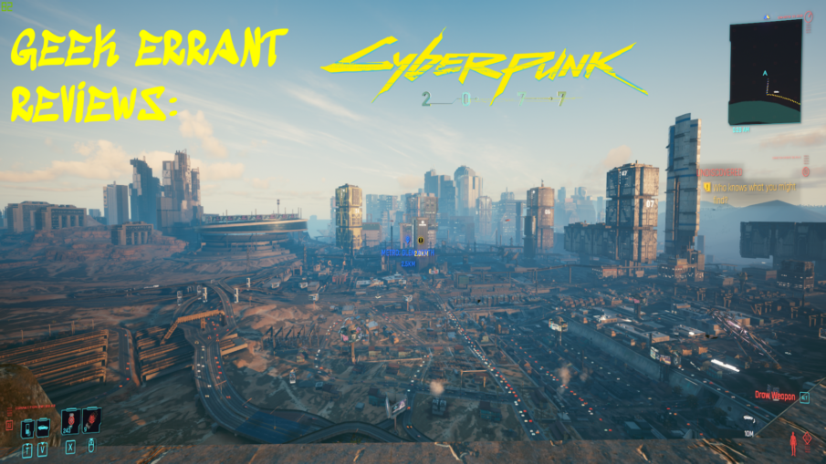 Cyberpunk Title