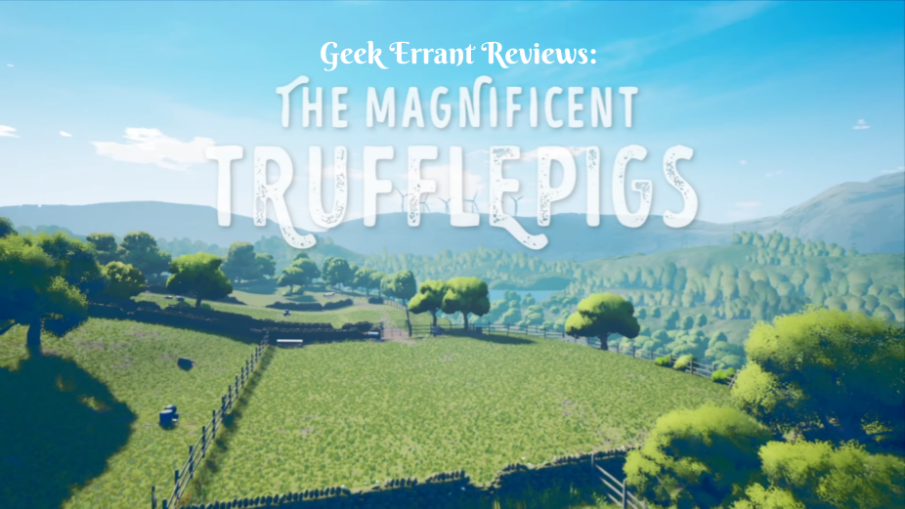 The Magnificent Trufflepigs Title