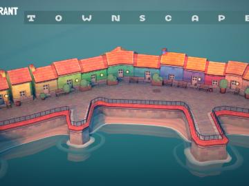 Townscaper Title