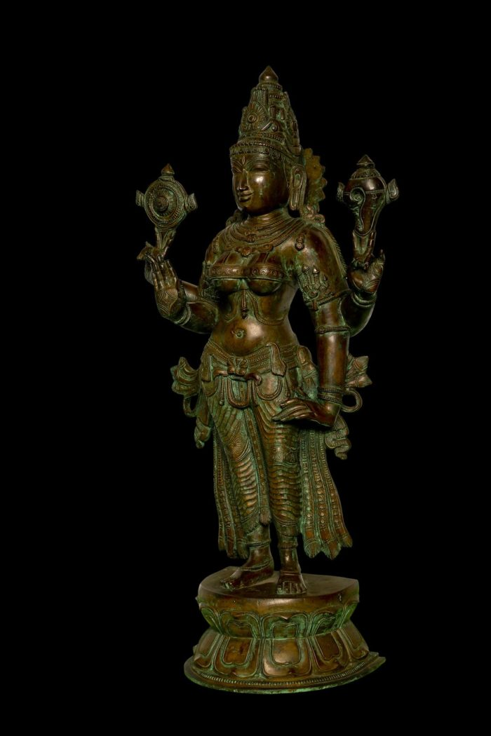 Vishnu Durga 24 Inch- Left View