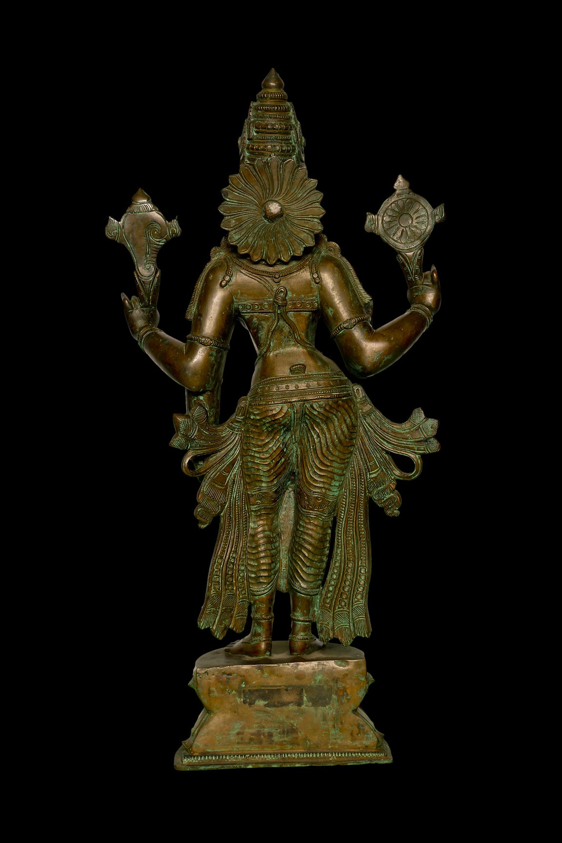 Vishnu Durga 24 Inch- Rear View