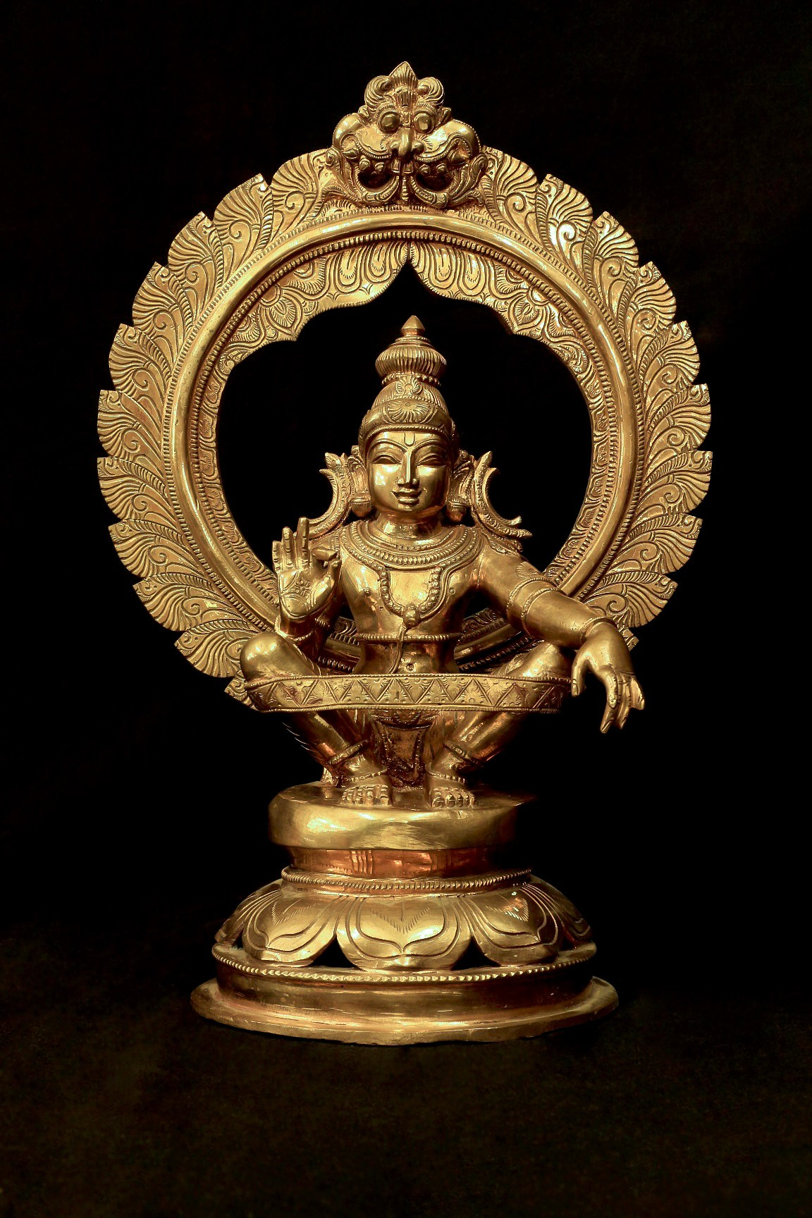 Ayyappa 18 Inch- Front View