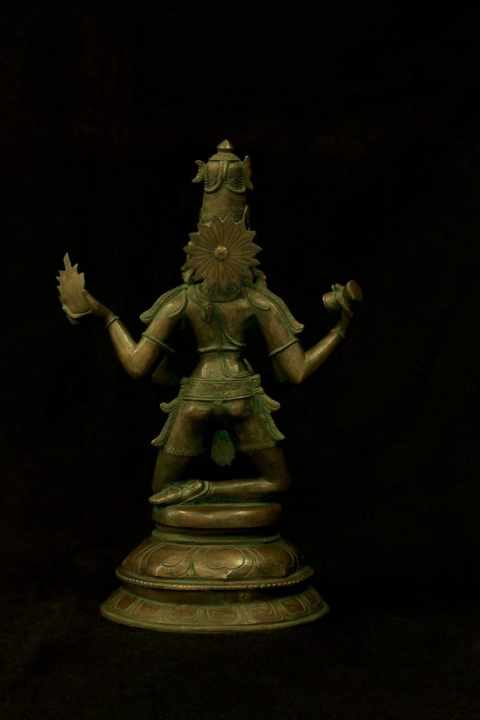 Sivathandavam 15 Inch- Rear View