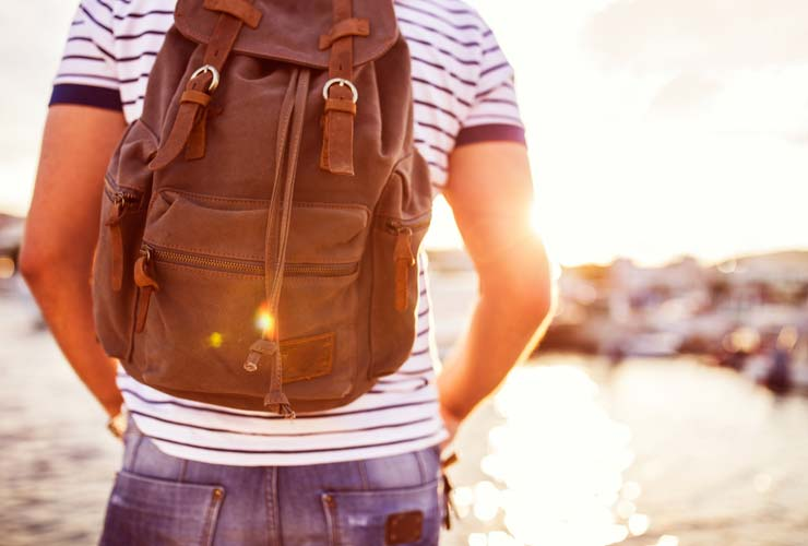 how to sweat less in summer backpack