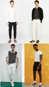 ATHLEISURE, Monochrome looks for mens dressing, dressing suit style for man