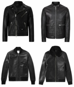 Leather Jacket monochrome