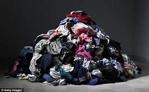 throw out old clothes