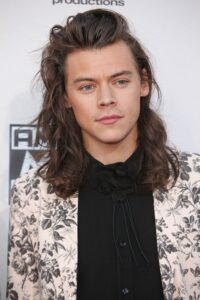 Harry Styles long waves long hairstyles for men