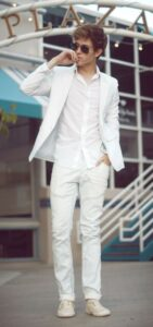 7 top ideas for white outfits for men 2020