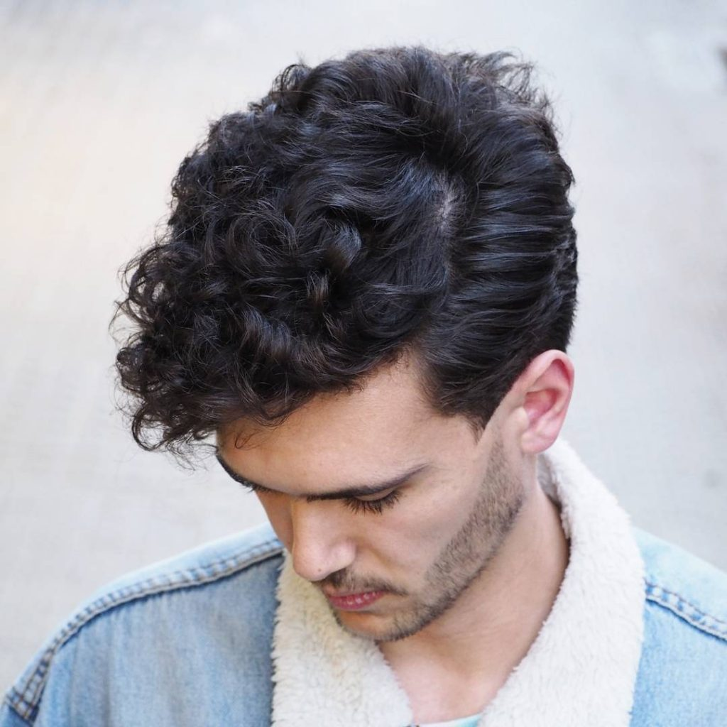 Curly Haircuts for men 2020
