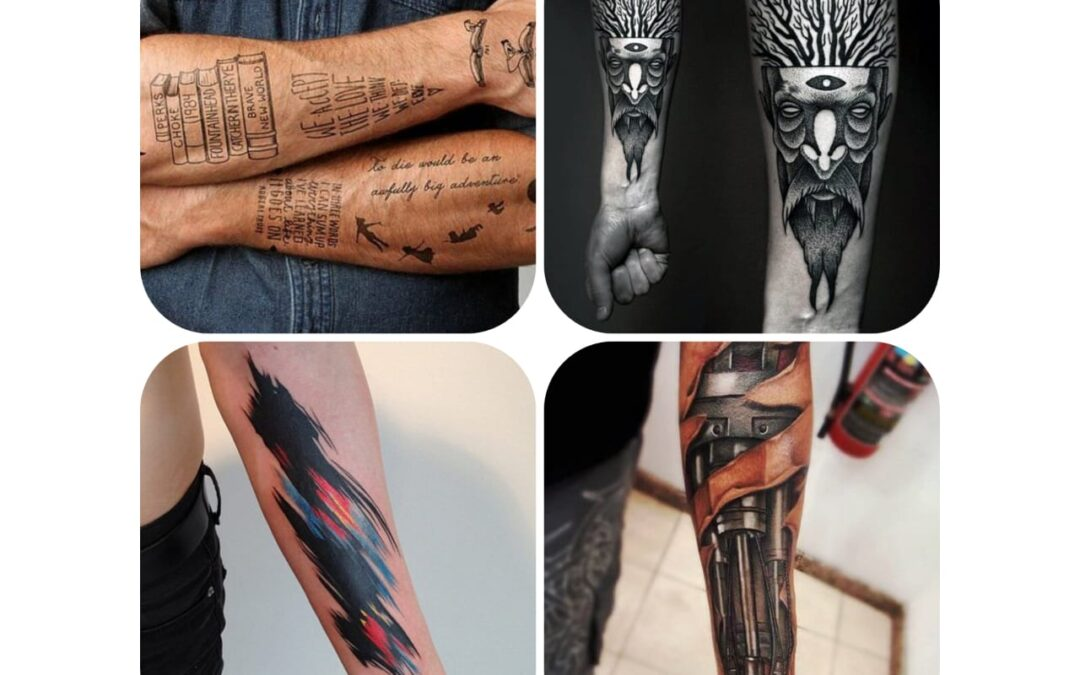 37 Best Forearm tattoos for men 2020