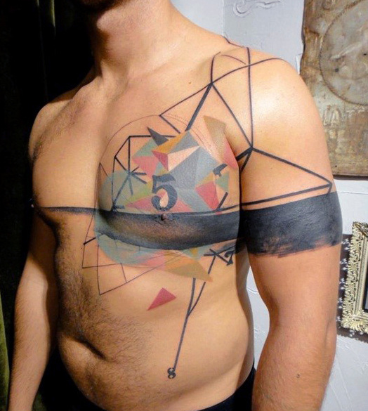 tattoo for the chest tattoos for men