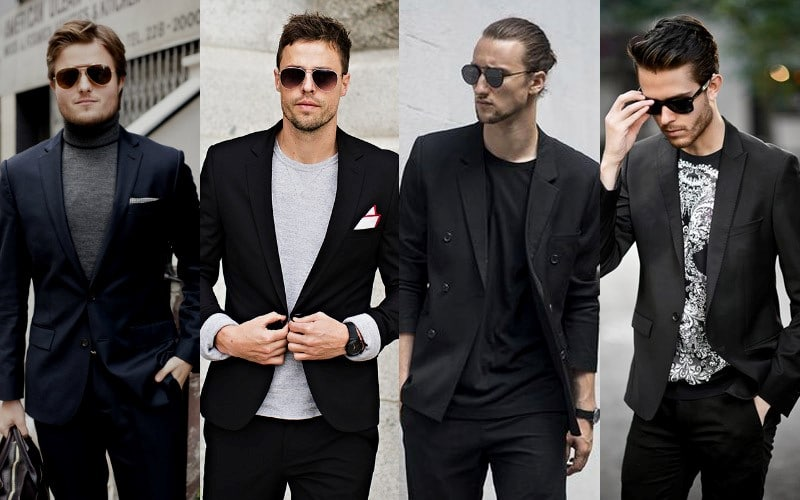 How to Wear Black Suit for men 2020?