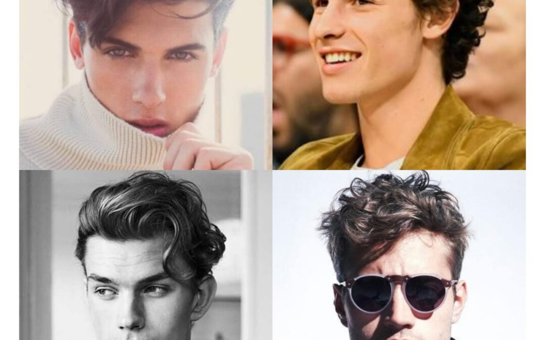 50 Stylish Wavy Haircuts for Men 2020