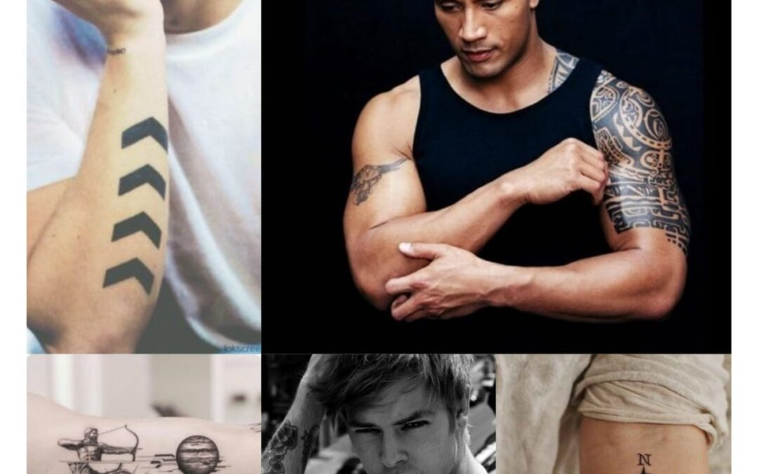 30 Stylish Arm Tattoos for Men 2020