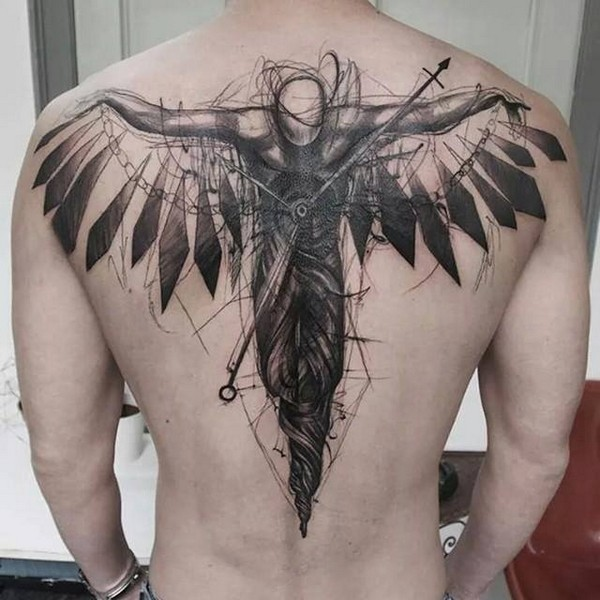 tattoo for the back