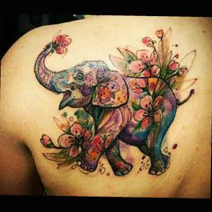 elephant tattoos for men 2020