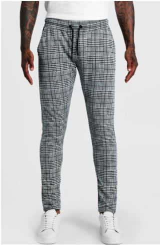 plaid pants for men