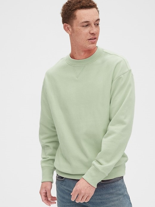 gap crewneck sweatshirts for men