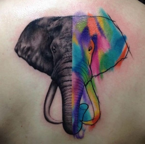 elephant tattoos ideas